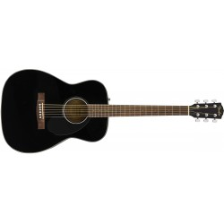 Fender CC-60s Concert Pack - Black - Pack Guitare Acoustique