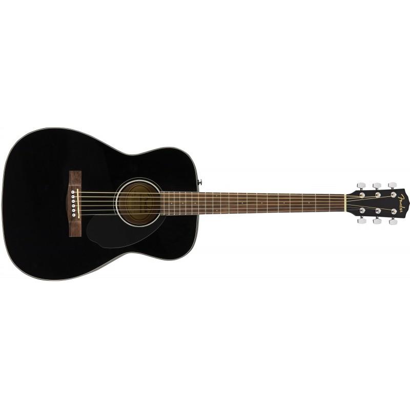 Fender CC-60s Concert Pack - Black - Pack Guitare Acoustique