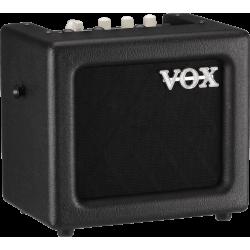 """Vox MINI3 - Combo 1x5"""" 3 W Noir - Ampli à modélisation"""