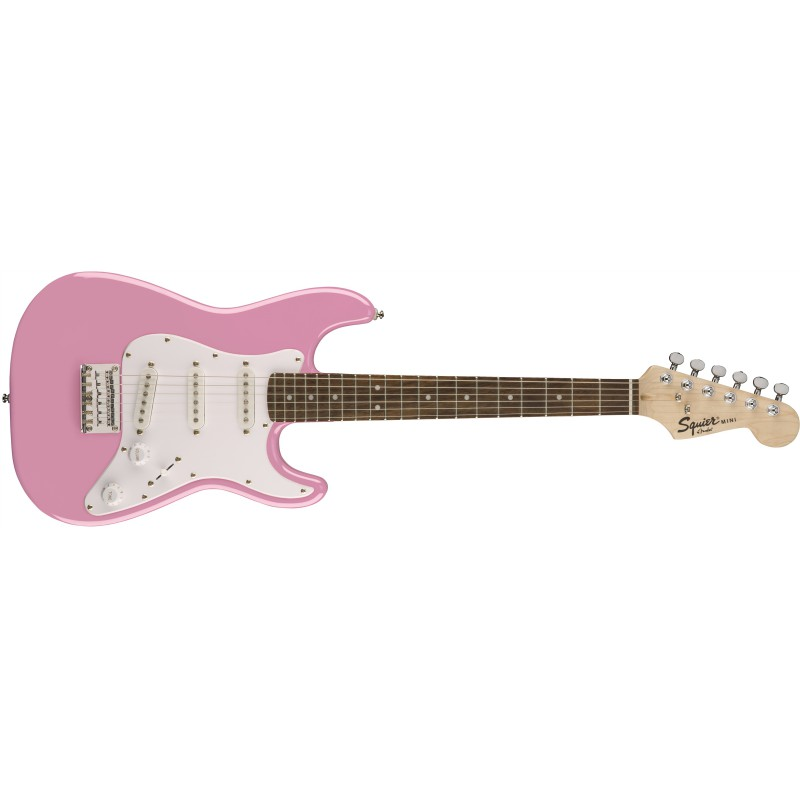 Squier Mini Strat® Pink - Guitare électrique pour enfant