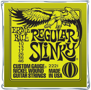 Les cordes de guitare Ernie_ball_regular_slinky_xl