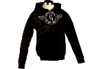 Gibson Logo Men's Hoodie - Sweat Shirt Noir Logo Gibson
