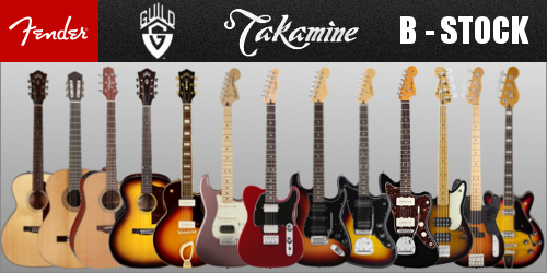 Guitare Basse Amplification B-Stock Fender - Takamine - Guild