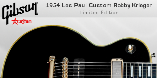 Gibson 1954 Les Paul Custom VOS Robby Krieger Limited Edition