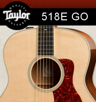 Taylor 518e Grand Orchestra Guitare Electro-acoustique