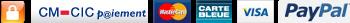 Paiement sécurisé par carte bancaire en 1,2, et 4 fois sans frais