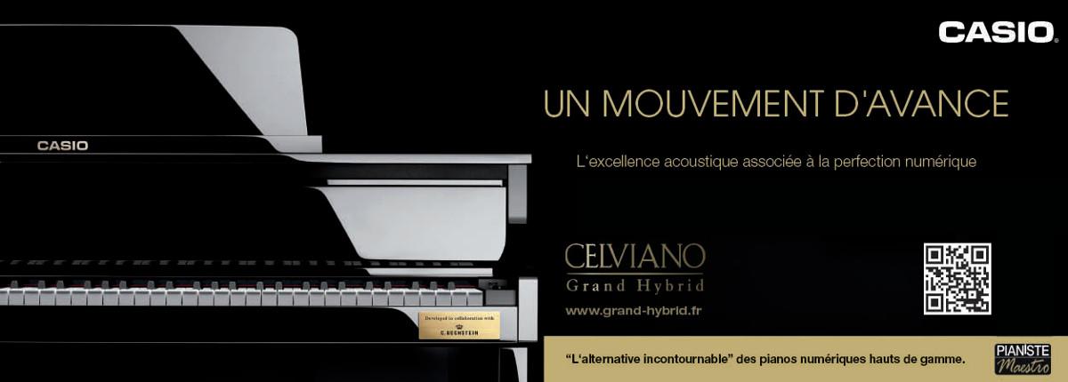 Casio Celviano Grand Hybrid GP-300 - Piano Numérique Hybrid