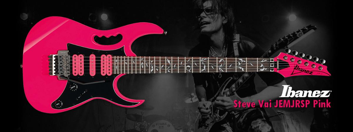 Ibanez JEMJRSP Pink Signature Steve Vai