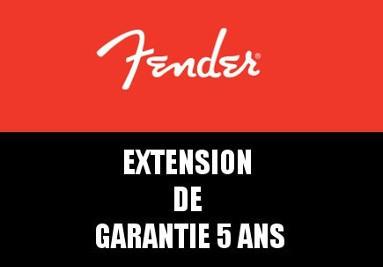 Fender Extension de garantie 5 ans